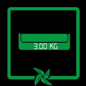 greutate ventilator