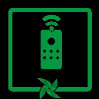 telecomanda ventilator